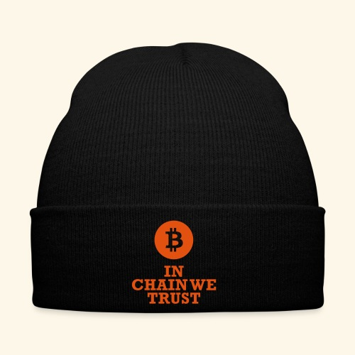 Bitcoin: In chain we trust - Wintermütze