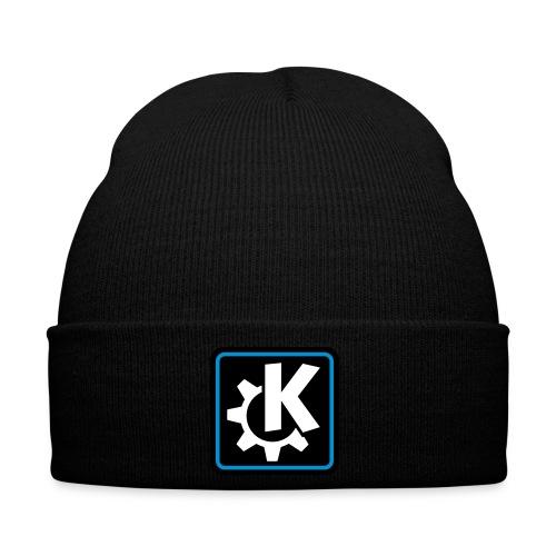 k logo bluish - Winter Hat