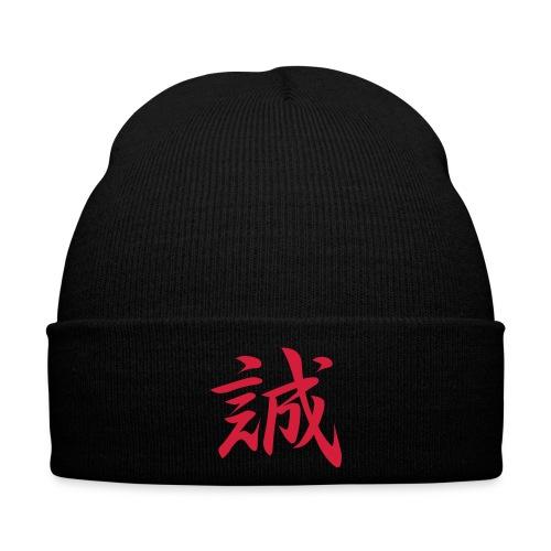 makoto kanji red CS1 - Wintermütze