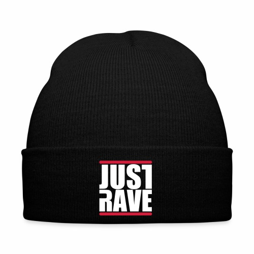 Just Rave Logo - Techno Festivals After Hour PLUR - Wintermütze