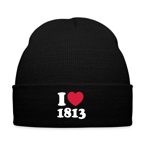 i love 1813 - Wintermütze