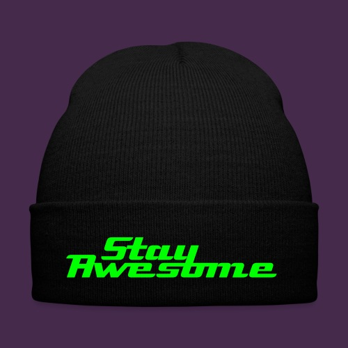 Stay Awesome Beanie - Winter Hat