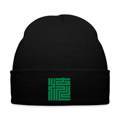 nagare kanji block 5x5cm - Wintermütze
