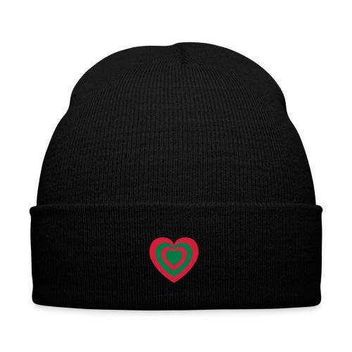 cuore Rosso-Verde - Cappellino invernale