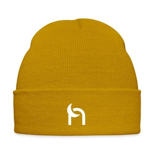 Nocturnal n logo white - Winter Hat