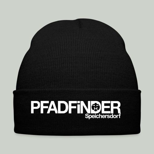 Schriftzug Mütze - Wintermütze