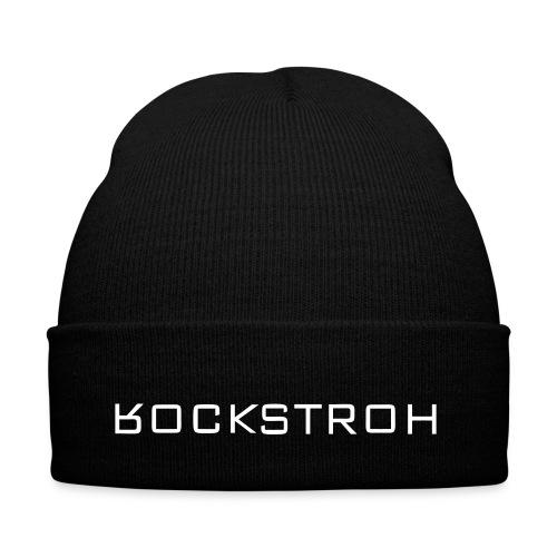 cooles Rockstroh Kontrast-Shirt - Wintermütze
