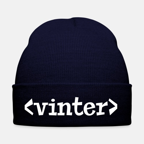 Vinter html tag