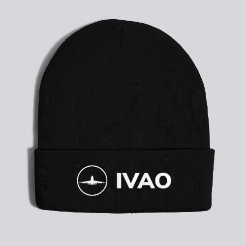 IVAO (Logo Complet Blanc) - Bonnet d'hiver