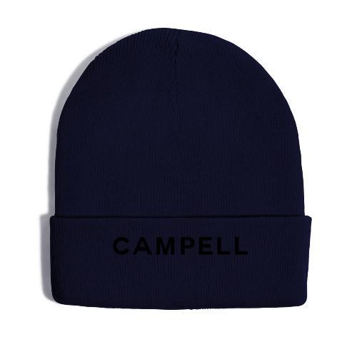 campell schriftzug2 - Wintermütze