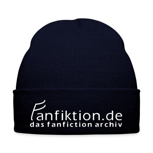 FanFiktion de Schriftzug - Wintermütze