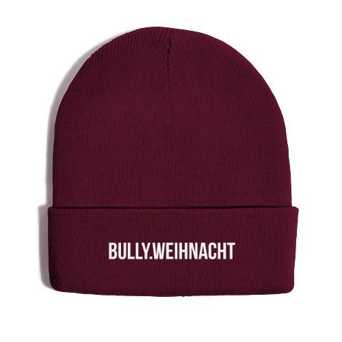 Französische Bulldogge Weihnachten - Geschenk - Wintermütze