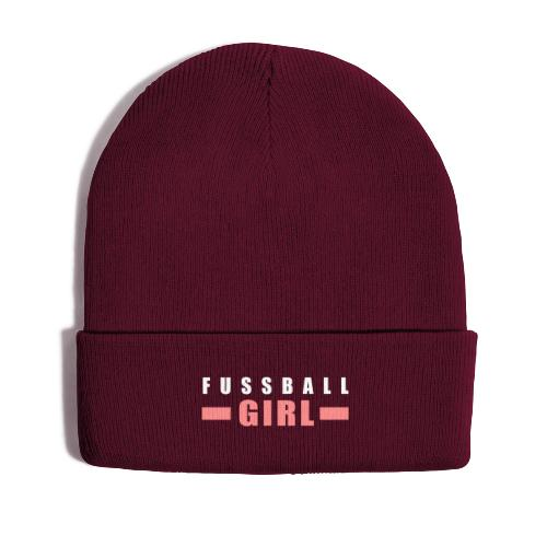 Fussball Girl - Wintermütze