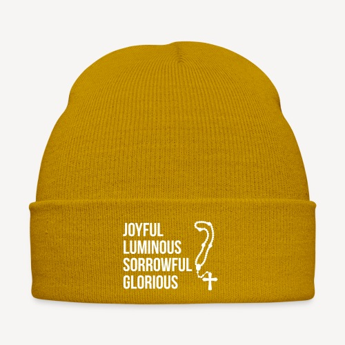 MYSTERIES OF THE ROSARY - Winter Hat