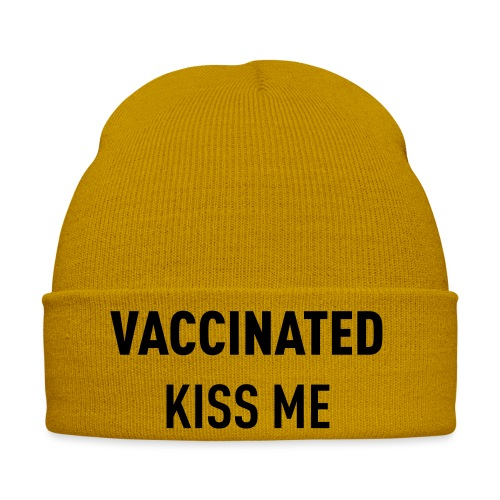 Vaccinated Kiss me - Winter Hat