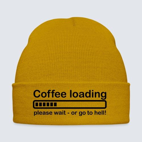 Coffee loading - Wintermütze