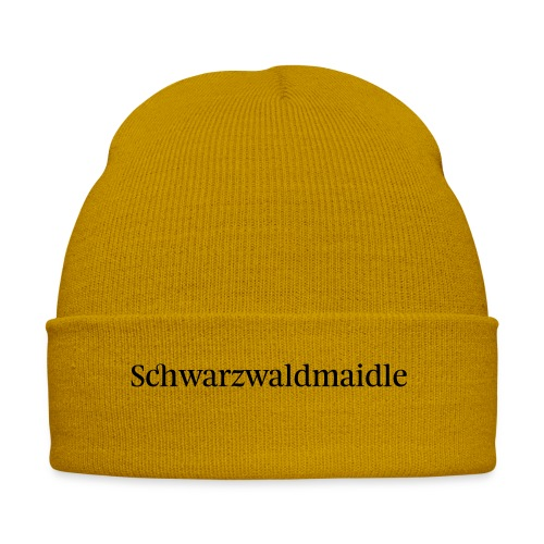 Schwarzwaldmaidle - T-Shirt - Wintermütze