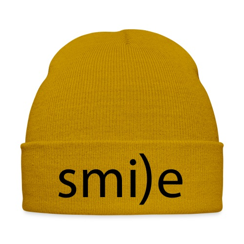 smile Emoticon lächeln lachen Optimist positiv yes - Winter Hat