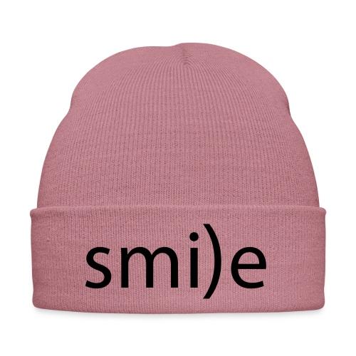 smile Emoticon lächeln lachen Optimist positiv yes - Winter Hat