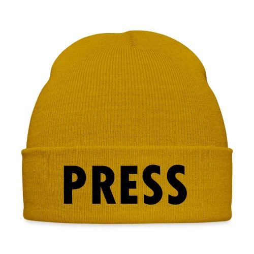 press - Wintermütze