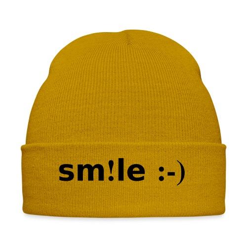 smile - sorridi - Cappellino invernale
