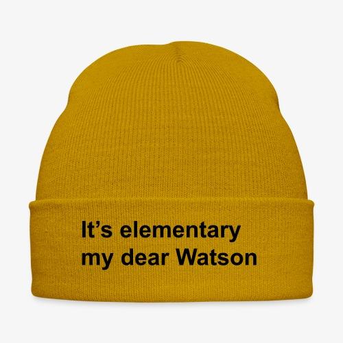 It's elementary my dear Watson - Sherlock Holmes - Winter Hat