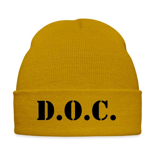Department of Corrections (D.O.C.) 2 back - Wintermütze