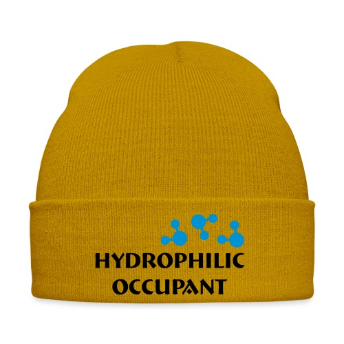 Hydrophilic Occupant (2 colour vector graphic) - Winter Hat