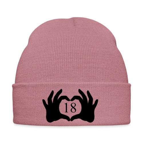 mains coeur 18 - Bonnet d'hiver