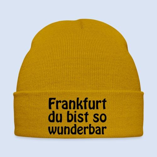 FRANKFURT Du bist so - Wintermütze