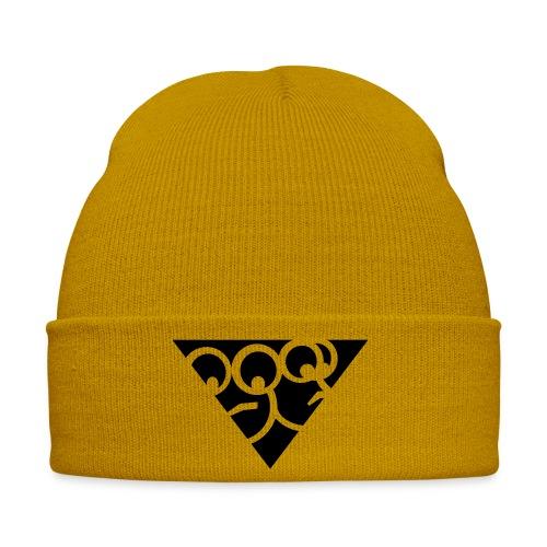 Aussenseiter-Shirt (Schwarz-Gelb) - Wintermütze