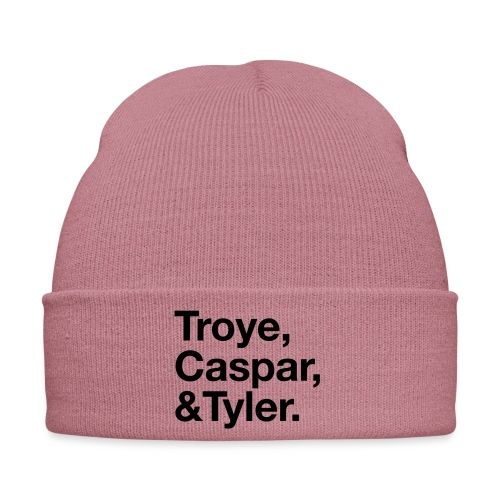 TROYE CASPAR AND TYLER - YOUTUBERS - Cappellino invernale