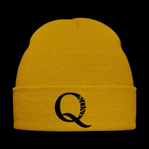 Q Anon Q-Anon Original Logo - Wintermütze