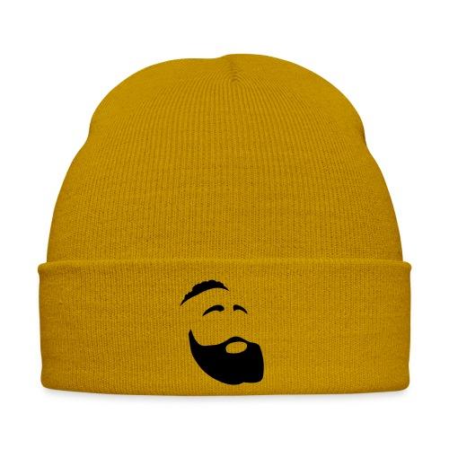 Il Barba, the Beard black - Cappellino invernale