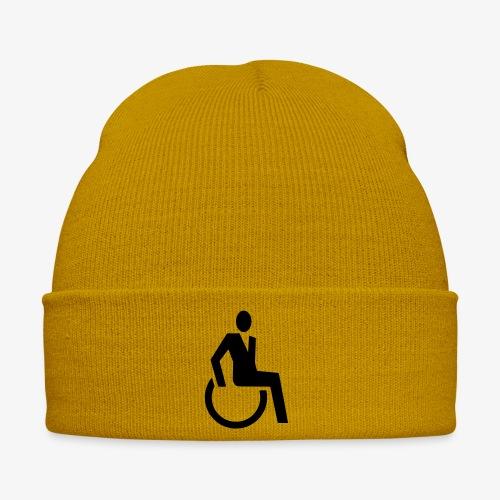 Sjieke rolstoel gebruiker symbool - Wintermuts