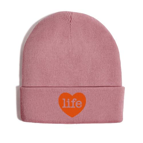 LOVE LIFE heart - Winter Hat