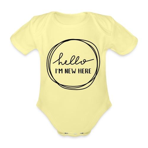 Hello, I'm new here - Baby Bio-Kurzarm-Body