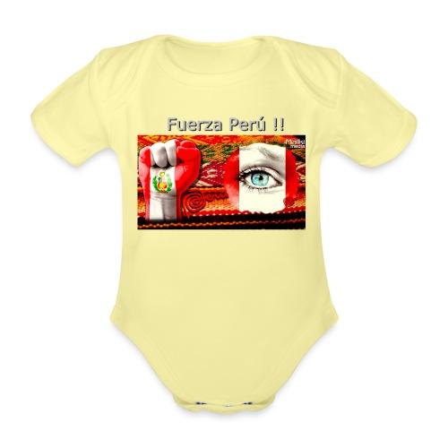 Telar Fuerza Peru I. - Baby Bio-Kurzarm-Body