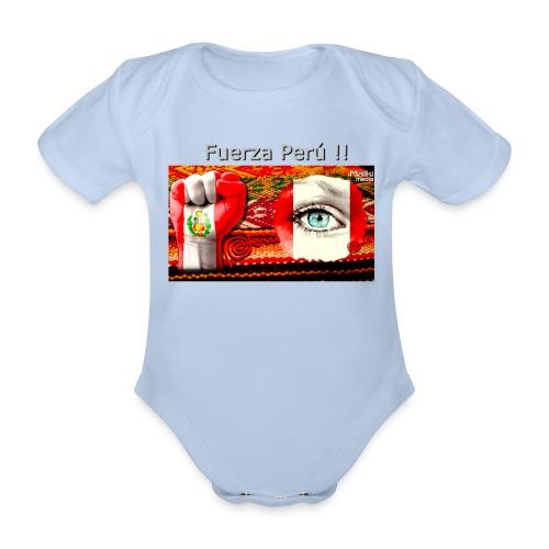 Telar Fuerza Peru I - Body orgánico de manga corta para bebé