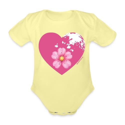 GINNY GUN LENAS LOGO - Body ecologico per neonato a manica corta