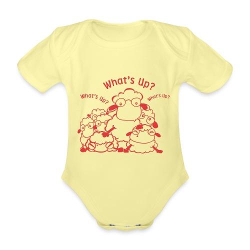 yendasheeps - Baby bio-rompertje met korte mouwen