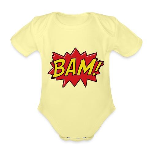 bamtamelijk - Baby bio-rompertje met korte mouwen