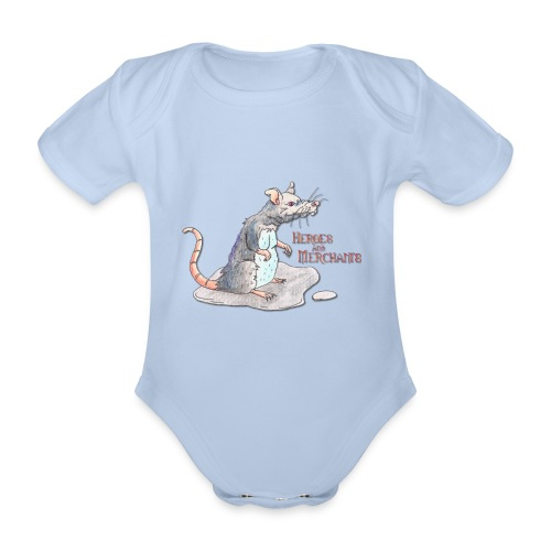 Rat - Baby Bio-Kurzarm-Body