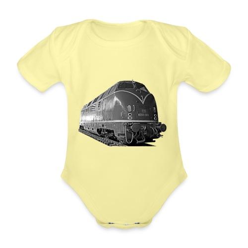 Diesel Lokomotive V 200 Deutsche Bundesbahn - Baby Bio-Kurzarm-Body