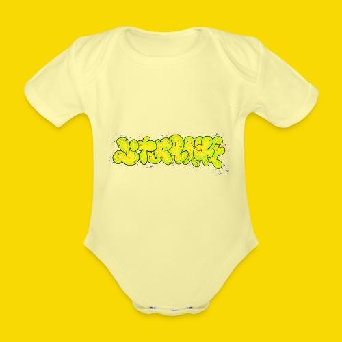 Strange Graffiti - Ekologiczne body niemowlęce z krótkim rękawem