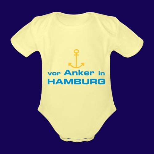 Vor Anker in Hamburg - Baby Bio-Kurzarm-Body