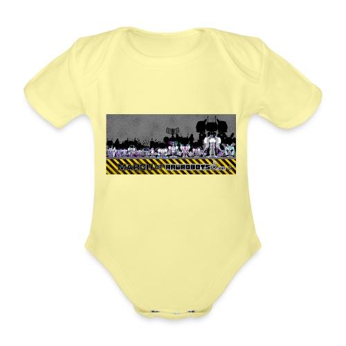 #MarchOfRobots ! LineUp Nr 2 - Kortærmet babybody, økologisk bomuld