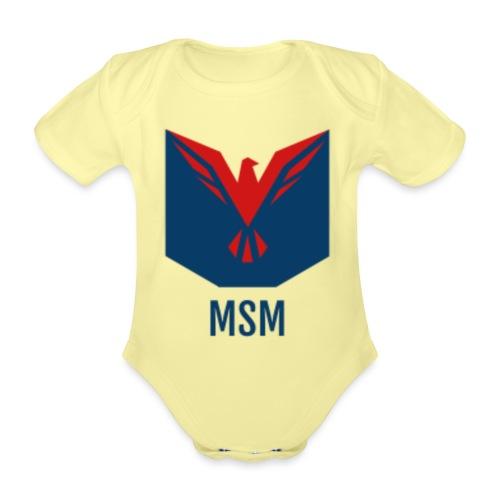 MSM ORIGINAL - Kortærmet babybody, økologisk bomuld