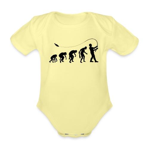 Evolution of fischers - Baby Bio-Kurzarm-Body