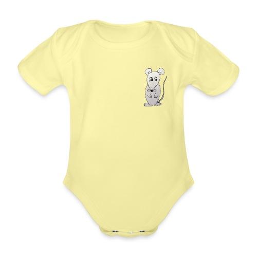 LackyMouse - Baby Bio-Kurzarm-Body